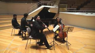 Carl Frühling, Trio for Clarinet, Cello & Piano in a minor, Op.40 (3.Mov) at the Berlin Phil.