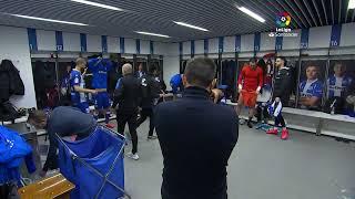 Calentamiento D. Alavés vs Villarreal CF