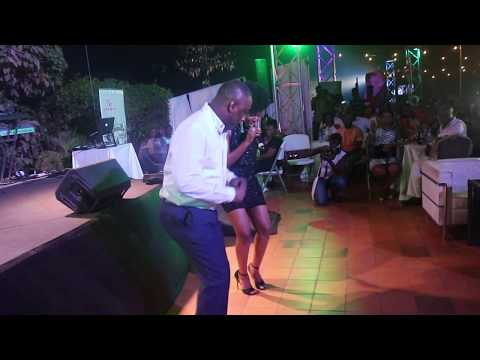 Mzvee's hilarious performance  with Ekow Smith Asante at 'Vitamilk love night' concert