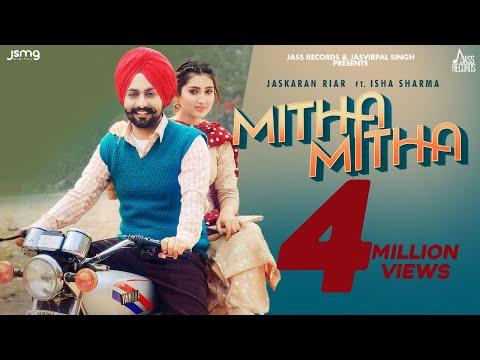 Mitha Mitha (Full Video) Jaskaran Riar | Gur Sidhu | Pejimia | New Punjabi Songs 2021 Jass Records
