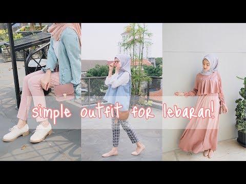 OUTFIT SIMPLE UNTUK LEBARAN - CLOTHING HAUL | Saritiw