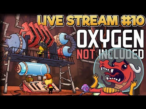 Power Plant Preparation – Oxygen Not Included Gameplay – Live Stream Part 10