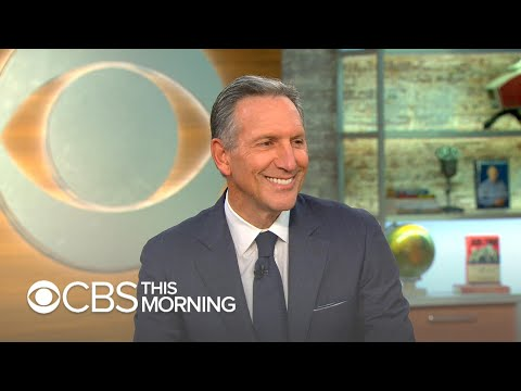 "Howard Schultz on independent 2020 run: ""I think I can beat the system"""