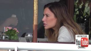Asifa Mirza having lunch in Beverly Hills