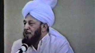 Historic Friday Sermon by Hadhrat Mirza Tahir Ahmad rh - 19 August 88