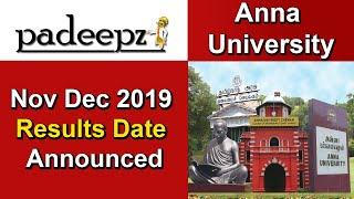 Anna University Results Nov Dec 2019 Date Announcement | Padeepz