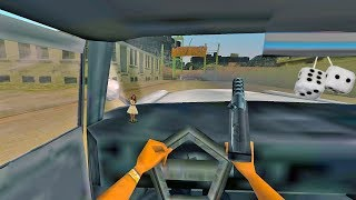 Playing GTA Vice City in FIRST PERSON!