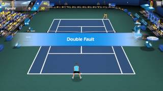 Flick Tennis Android GamePlay 3D Tennis Game