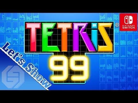 Tetris 99 Let's Show ★ Battle Royal Puzzle Game ★ Switch Edition ★ Deutsch