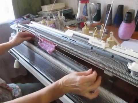 машинное вязание носки круглочулочным вязанием на сильвер рид а оно надо