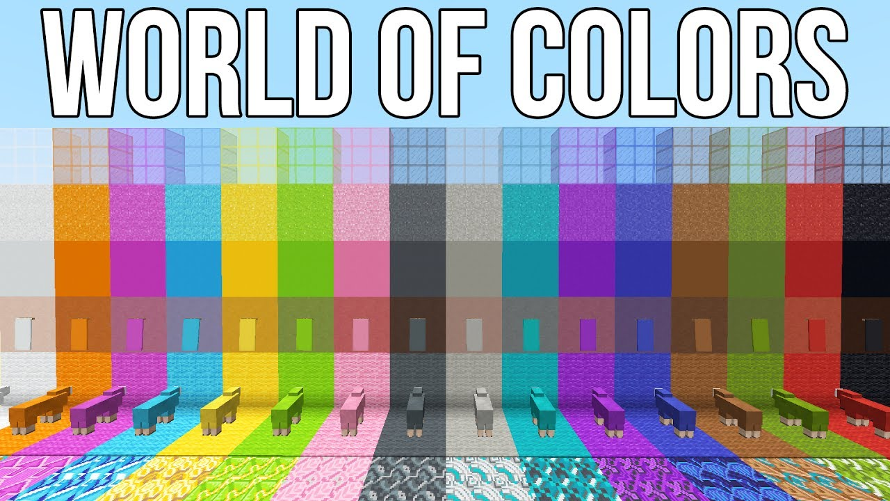 Minecraft 1 12 News World Of Colors To Be Released Friday June Minecraft Colors
