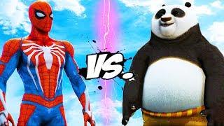 SPIDER-MAN VS PO - KUNG FU PANDA