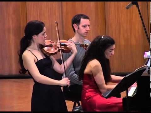 Marie Claudine Papadopoulos & Jovana Nikolic play Gershwin: Summertime-Violin and Piano)