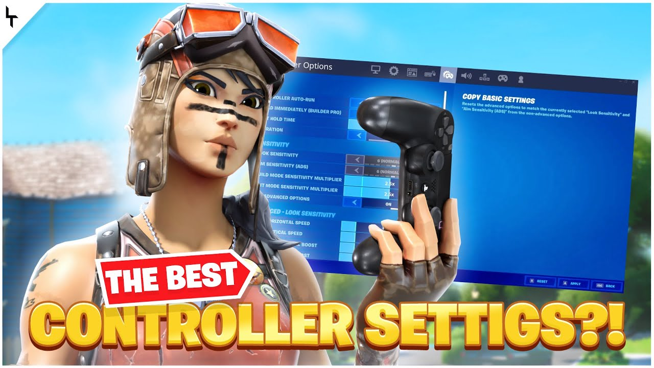 NEW *BEST* Chapter 2 Linear AIMBOT 60FPS Fortnite Settings Sensitivity/Deadzone!(Xbox/Ps4)