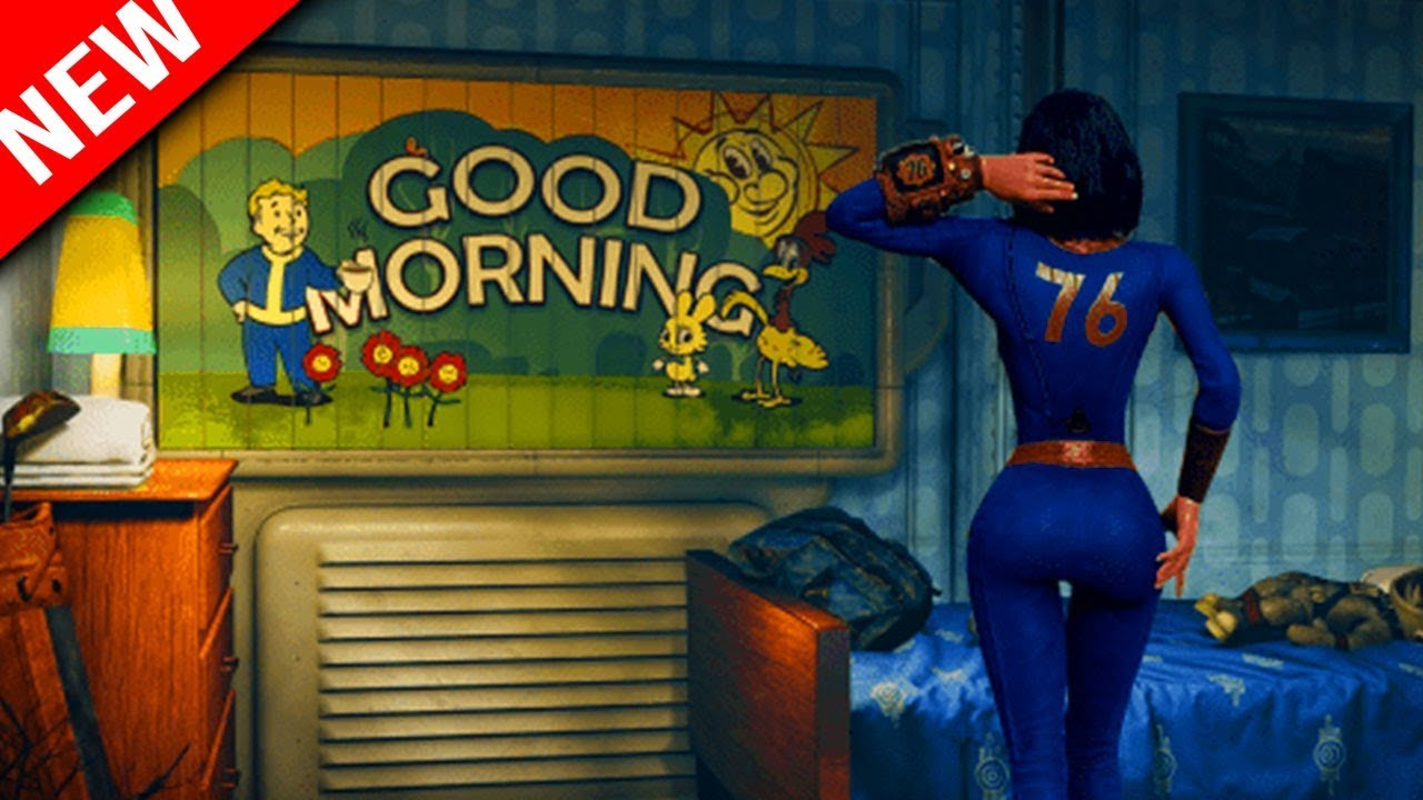 *NEW FALLOUT 76 GAMEPLAY - Outfits, Multiplayer Mods Building Guide Info  Fallout 76 Review Questions