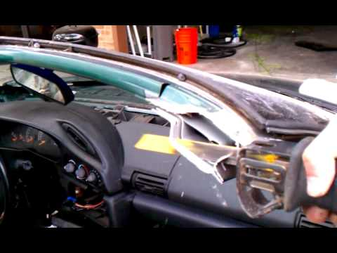 Camaro Z28 383 T Top Conversion How To Part 11 Of