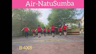 Air-NatuSumba Linedance by Christie Lim (MY) & Peter Reber (SA)-February 2021