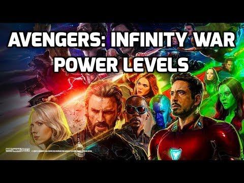 Avengers: Infinity War Power Levels
