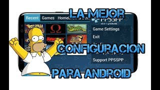 Video Como Configurar el Emulador PPSSPP en Android 2018/Gama Baja/Media/Alta download MP3, 3GP, MP4, WEBM, AVI, FLV Agustus 2018