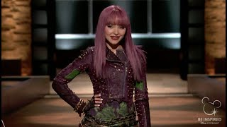 Dove Cameron Of Descendants 2 Does Mal Shark Tank Parody