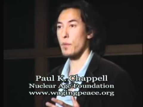 Talk - Paul Chappell - Why Peace Is Possible & How We Can Achieve It