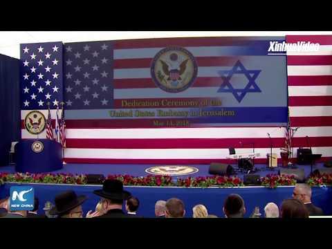 LIVE: U.S. inaugurates embassy in Jerusalem amid Palestinian protests