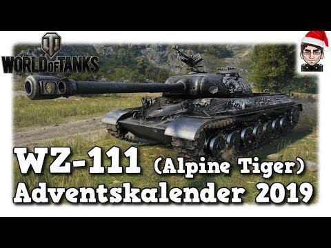 World of Tanks - WZ-111 (Alpine Tiger), Adventskalender 2019 [deutsch]