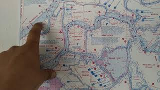 CA Delta Winter Bank Fishing Locations