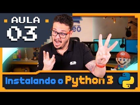 Curso Python #03 - Instalando o Python3 e o IDLE