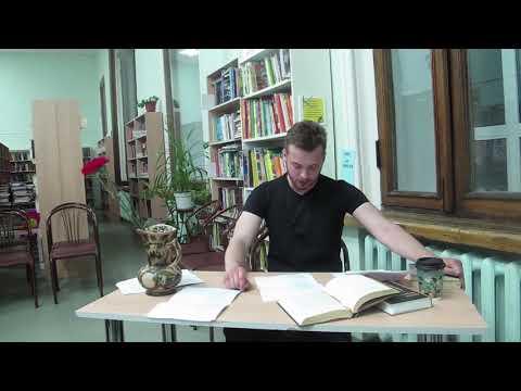 Ольга Берггольц, отрывок из Ленинградской поэмы, читает Денис Сорокотягин