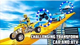 Transform Racing 2018: Car, Quad Bike & Airplane - Gameplay Android game - racing game