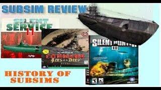 Submarine Simulators 1982-2015