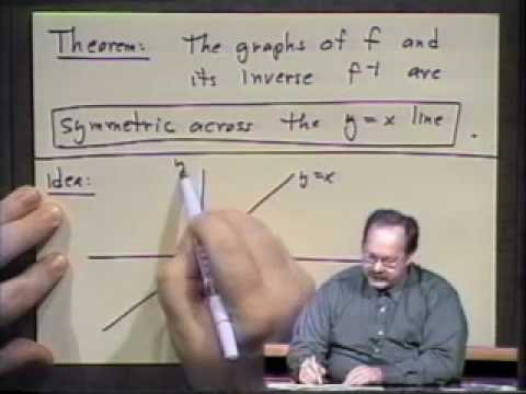 College Algebra - Lecture 29 - Logarithmic Functions