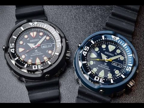 WatchesTokyo Review Seiko Tuna ฉลอง 50th Special Editoin SRP653 & SRP655
