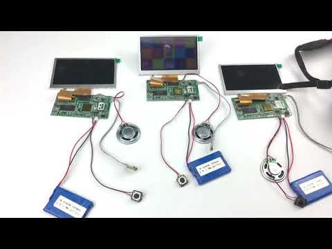 Funtek 4 3 inch LCD TFT Display Screen Video Module PCBA Sets