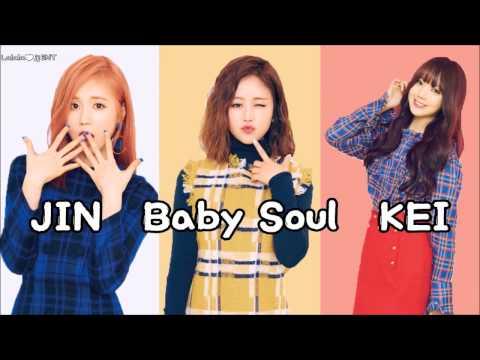 Lovelyz (Baby Soul, Kei, Jin) - Morning Star (새벽별) (eng sub + romanization + hangul) [HD]