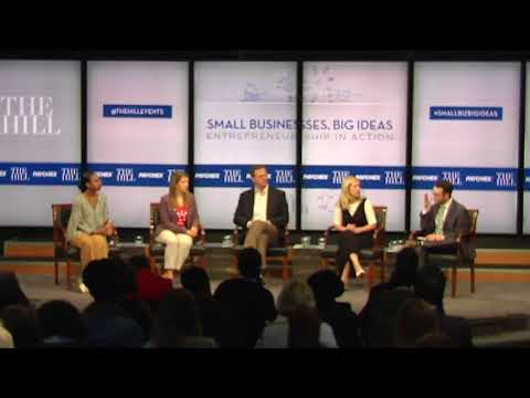 Small Business, Big Ideas: Entrepreneurship in Action // Supporting Startups