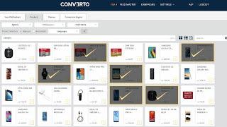Feed Based VIDEO Bildschirmdemo: Werbevideo auf Knopfdruck.