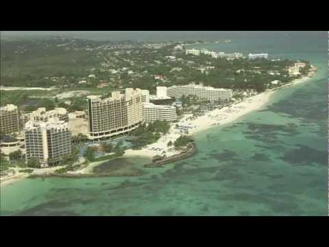 Nassau - Bahamas - Aerials - HD Stock Footage - Best Shot St