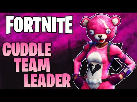 CUDDLE TEAM LEADER + TAT AXE (Gameplay) // Fortnite // 270+ Wins