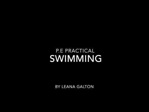 GCSE P.E - Swimming