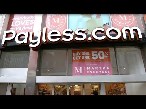 Payless will begin to shutter its US stores Sunday