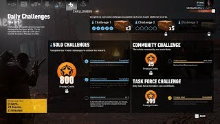 Ghost Recon Wildlands Daily Challenges Week 30 Day 3 Solo Challenge 2 The Prison Village SG'S Only