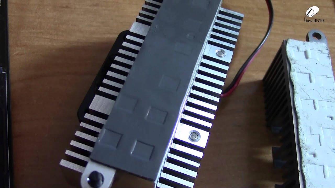 Projekt radiatora na sekcję zasilania, co dalej?