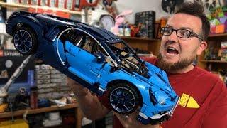 REVIEW: LEGO Technic Bugatti Chiron Car Set 42083