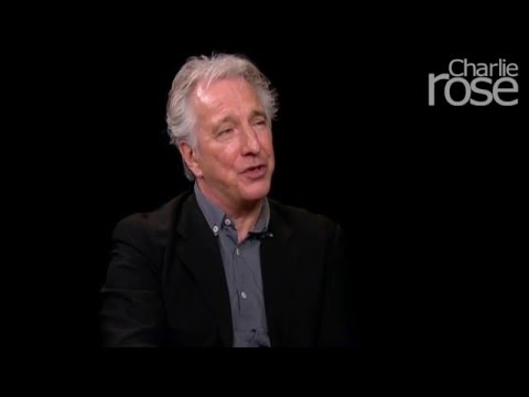 Alan Rickman on facing stage fright (Feb. 28, 2012) | Charlie Rose