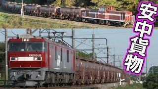福島臨海鉄道からJR貨物へ、東邦亜鉛の安中貨物 (EH500 & DD56が牽く専用貨物列車)