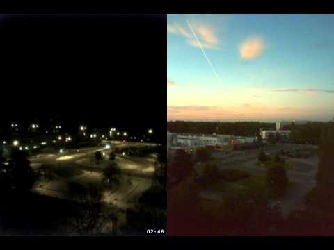Time-lapse in Kontula, Helsinki. Summer vs. winter.