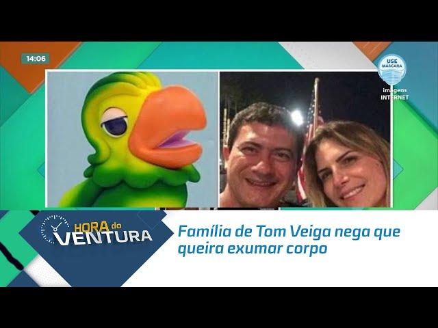 Família de Tom Veiga nega que queira exumar corpo