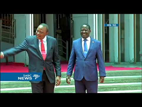 Kenya's Uhuru Kenyatta and Raila Odinga new brotherhood